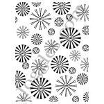 Joggles Stencils - Flowerburst [10-33746]