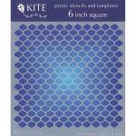 """JudiKins 6"""" x 6"""" Kite Stencil - Alladin's Screen [KS 02]"""