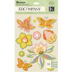 K & Company Edamame - [30-619371] Felt Stickers