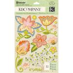 K & Company Edamame - [30-619395] Flower Grand Adhesions