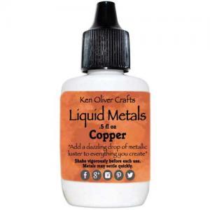 Ken Oliver Crafts Color Burst Liquid Metals - Copper
