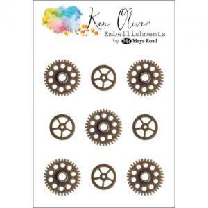 Ken Oliver Embellishments - Vintage Gears