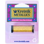 Kreinik Very Fine (#4) Braid - Citron [028]