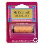 Kreinik Fine (#8) Braid - Yellow/Orange [127]