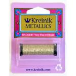 Kreinik Very Fine (#4) Braid - White Gold High Luster [017HL]