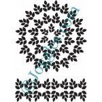Joggles Stencils - Laurel Wreath [10-33786]
