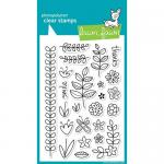 Lawn Fawn Photopolymer Clear Stamps - Blissful Botanicals [LF352]