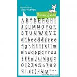 Lawn Fawn Photopolymer Clear Stamps - Claire's ABCs [LF381]