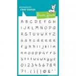 Lawn Fawn Photopolymer Clear Stamps - Jessie's ABCs [LF319]