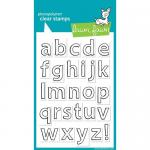 Lawn Fawn Photopolymer Clear Stamps - Quinn's ABCs [LF353]