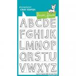 Lawn Fawn Photopolymer Clear Stamps - Quinn's Uppercase ABCs [LF509]