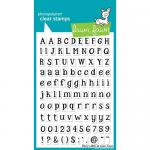 Lawn Fawn Photopolymer Clear Stamps - Riley's ABCs [LF452]