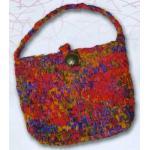 Princess Mirah Design - Little Knit Purse Kit - Garnet