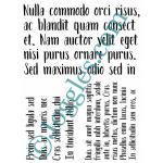 Joggles Stencils - Lorem Ipsum [10-33794]