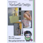 Mackerilla Designs - Mackerilla Mini Tote & Indie Shopper