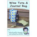 Mackerilla Designs - Wine Journal & Tote Bag