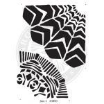 Margaret Applin Stencil Design Tools - Jess 1 [33850]