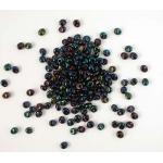 Miyuki Magatama Beads - 452 Metallic Dark Blue Iris