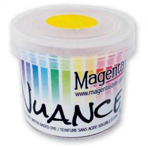 Magenta Nuance Powdered Dye - Bright Yellow