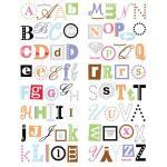 Making Memories Rub-On Book - [28676] Monograms