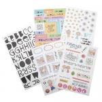 Mambi Sticks Glitter Stickers Value Pack - Friends Forever [GVP-19]