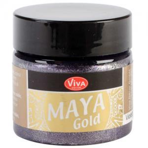 Viva Decor Maya Gold - Violet