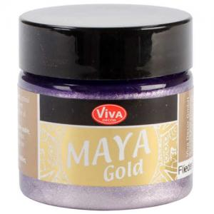 Viva Decor Maya Gold - Lilac