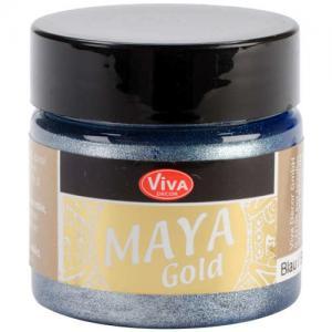 Viva Decor Maya Gold - Blue