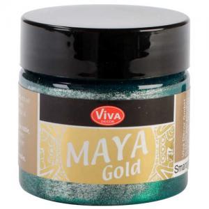 Viva Decor Maya Gold - Emerald
