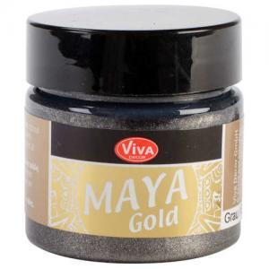 Viva Decor Maya Gold - Grey