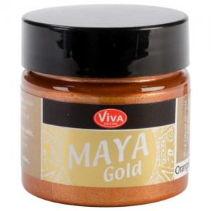 Viva Decor Maya Gold - Orange Gold