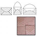 Maya Road Kraft Envelopes - [K2216] Red Polka Dots