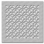My Favortite Things Mix-Ability Stencil - Petal Pattern
