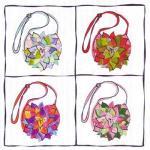 Mary Jo Hiney - Silk Adaptation Embrace Handbag