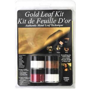 Mona Lisa By Speedball Metal Leaf Starter Gold Kit [12204]