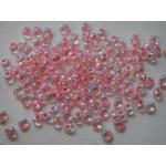 Miyuki Magatama Beads - 2147 Light Salmon Lined Crystal AB