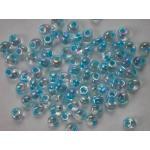 Miyuki Magatama Beads - 2149 Aqua Lined Crystal AB