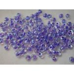 Miyuki Magatama Beads - 2150 Violet Lined Crystal AB