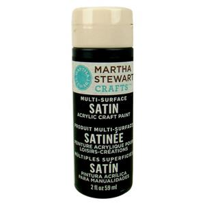 Martha Stewart Multi-Surface Satin Craft Paint - [32082] Beetle Black