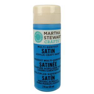 Martha Stewart Multi-Surface Satin Craft Paint - [32020] Blue Calico
