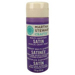 Martha Stewart Multi-Surface Satin Craft Paint - [32027] Heliotrope
