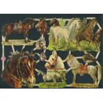 Victorian Scrap Pictures [7236] - Horses - ON SALE!