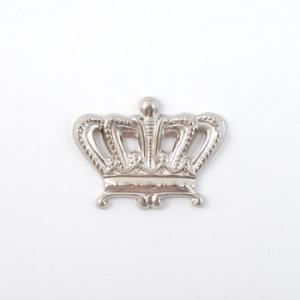 Nunn Designs Metal Stampings - [dcs-ob] Imperial Crown, Open Silver