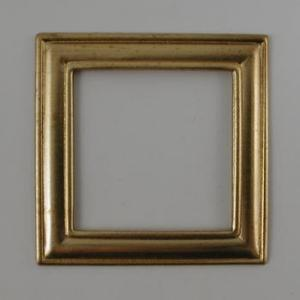 Nunn Designs Metal Stampings - [df-7b] Small Square Frame, Gold