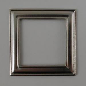 Nunn Designs Metal Stampings - [dfs-7b] Small Square Frame, Silver