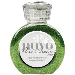 Nuvo Pure Sheen Glitter - Green Meadow