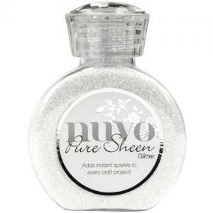 Nuvo Pure Sheen Glitter - Ice White