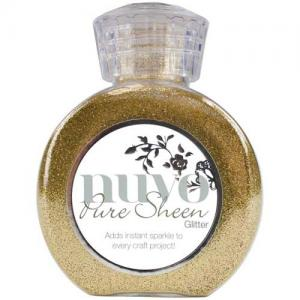 Nuvo Pure Sheen Glitter - Light Gold