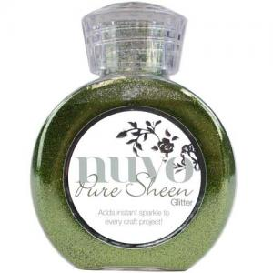 Nuvo Pure Sheen Glitter - Olive Green
