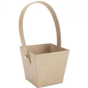 Paper Mache Basket [2872-80]